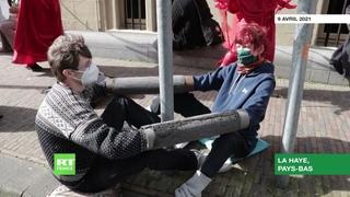 Pays-Bas : des partisans du mouvement Extinction Rebellion arrêtés à La Haye