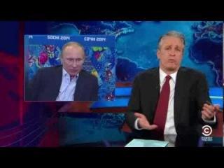 The Today Show with Jon Stewart - 2014 Sochi Homophobic Olympics - Hilarious