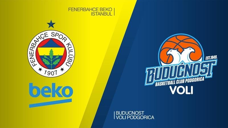 Fenerbahce Beko Istanbul - Buducnost VOLI Podgorica Highlights   EuroLeague RS Round 27