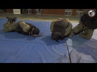 Тренировки корейского спецназа