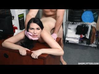 Охранник жестко наказал молодую воровку (Natana Brooke,инцест,milf,минет,русское,секс,анал,мамку,сиськи,PornHub,порно,зрелую)