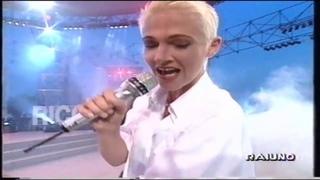 Roxette; Sleeping In My Car Playback - Un Disco Per L'estate Italy, 1994