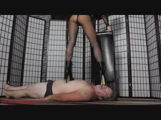 Mistress hard trample  [strapon, domina, femdom, mistress, goddess]