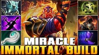 MIRACLE [Ember Spirit] Immortal Build | Best Pro MMR - Dota 2