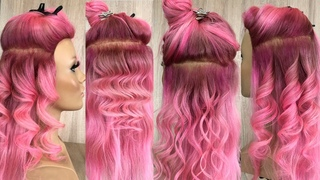 Локоны на плойку 25 мм| How to make curls ?
