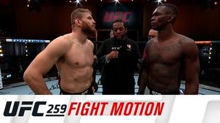 Em câmera lenta, os melhores momentos do UFC 259