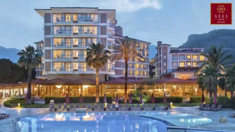 Отель AKKA ALINDA HOTEL 5 * Кемер Турция