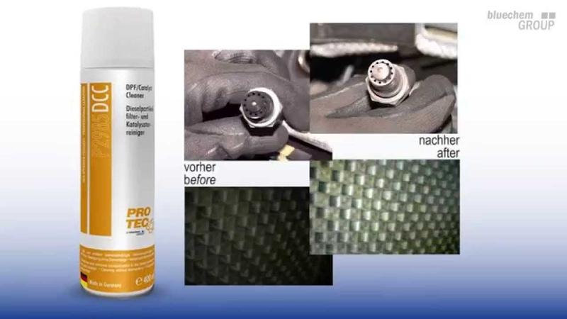 PRO TEC DE EN Dieselpartikelfilter und Katalysatorreiniger DPF Catalyst Cleaner