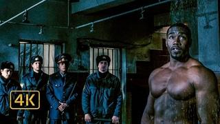 Чемберс (Майкл Джей Уайт) отказывает принимать холодный душ. Драка с охранниками. Неоспоримый 2