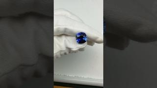 Ювелирные камни - Сапфир выращенный, кушон 13*13 мм