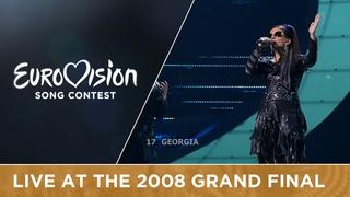 Diana Gurtskaya - Peace Will Come (Georgia) Live 2008 Eurovision Song Contest
