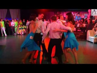 """Fiesta-Rueda 2013 в Уфе. """"Bailо Latina"""", 2 состав, г.Стерлитамак. Организатор- Студия танцев Esperanza"""
