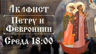 Трансляция: Акафист свв. Петру и Февронии, Муромских чудотворцев. 28 июля (среда) в 18:00