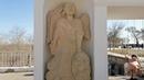Земляной вал Оренбургской крепости Елизаветинские ворота и где хранятся подлинные скульптуры ангелов