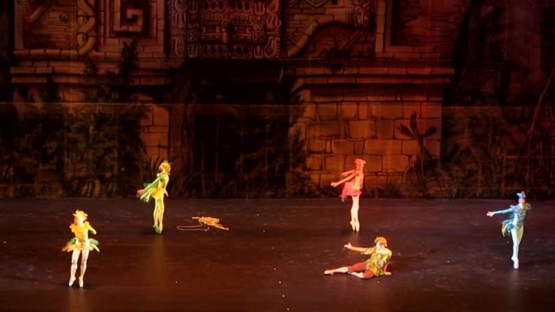 Волшебная флейта Кремлевский балет часть 3