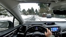 Seattle in SNOW | Subaru Crosstrek POV Driving