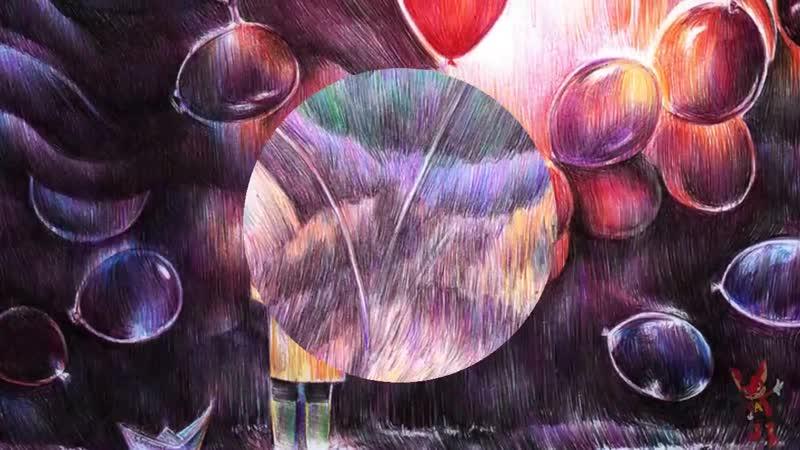 Картины шариковой ручкой Марите Десайне (Marite Desaine)