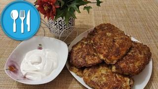 😋Пища богов! 🍪Драники с колбасой и сыром со сметаной 👌🏻Лёгкий и быстрый рецепт 🌮Обед на скорую руку