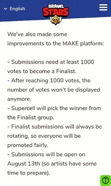 Разработчики внесли некоторые изменения в платформу Supercell MAKE: