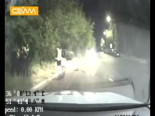 Погоня за предположительно нетрезвым водителем