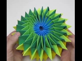 Как сделать красивую бумажную звезду для украшения