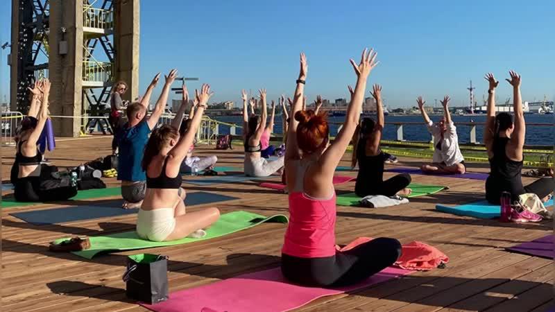 Практика йоги в