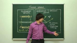 Физика. Геометрическая оптика: Плоское зеркало. Центр онлайн-обучения «Фоксфорд»