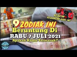 ZODIAK YANG BERUNTUNG HARI RABU 7 JULI 2021 LENGKAP DAN AKURAT ✅