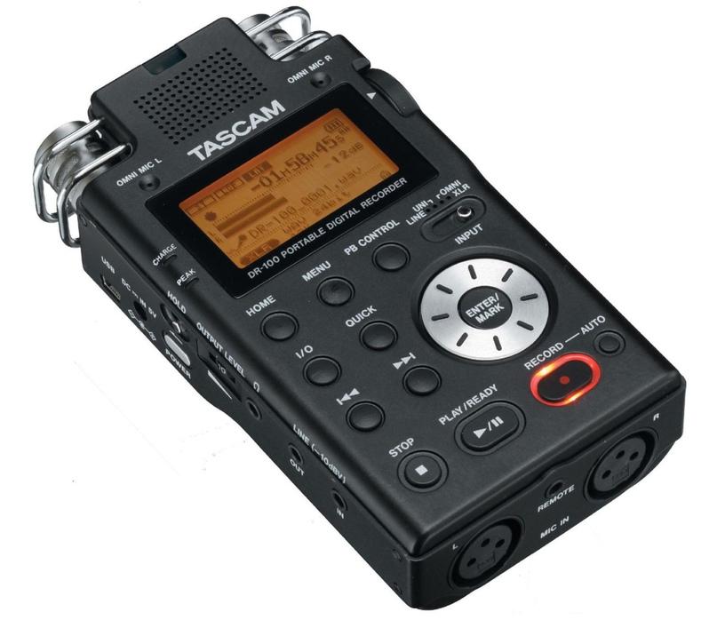 Аудиорекордер Tascam DR100mk2
