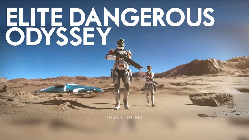 Elite Dangerous Odyssey Space Legs Arrives With Atmospheres Confirmed for Early 2021