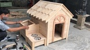 Amazing Woodworking Project Ideas From Old Pallets Build A Wooden House For Your Dog - DIY!
