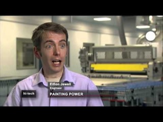 euronews hi-tech - Painting for change