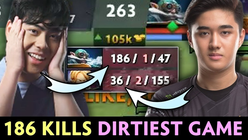 186 KILLS Ana DIRTIEST Fountain Farm in Dota history with Abed