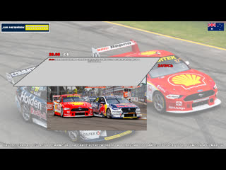 Virgin Australia Supercars Championship: NTI Townsville SuperSprint, Гонка 1,  [A21 Network]