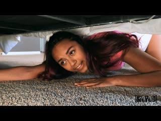 Little Squirtles - Strandedteens - Help i'm stuck ## POV black ebony brunette teen wmbf blowjob sex porn
