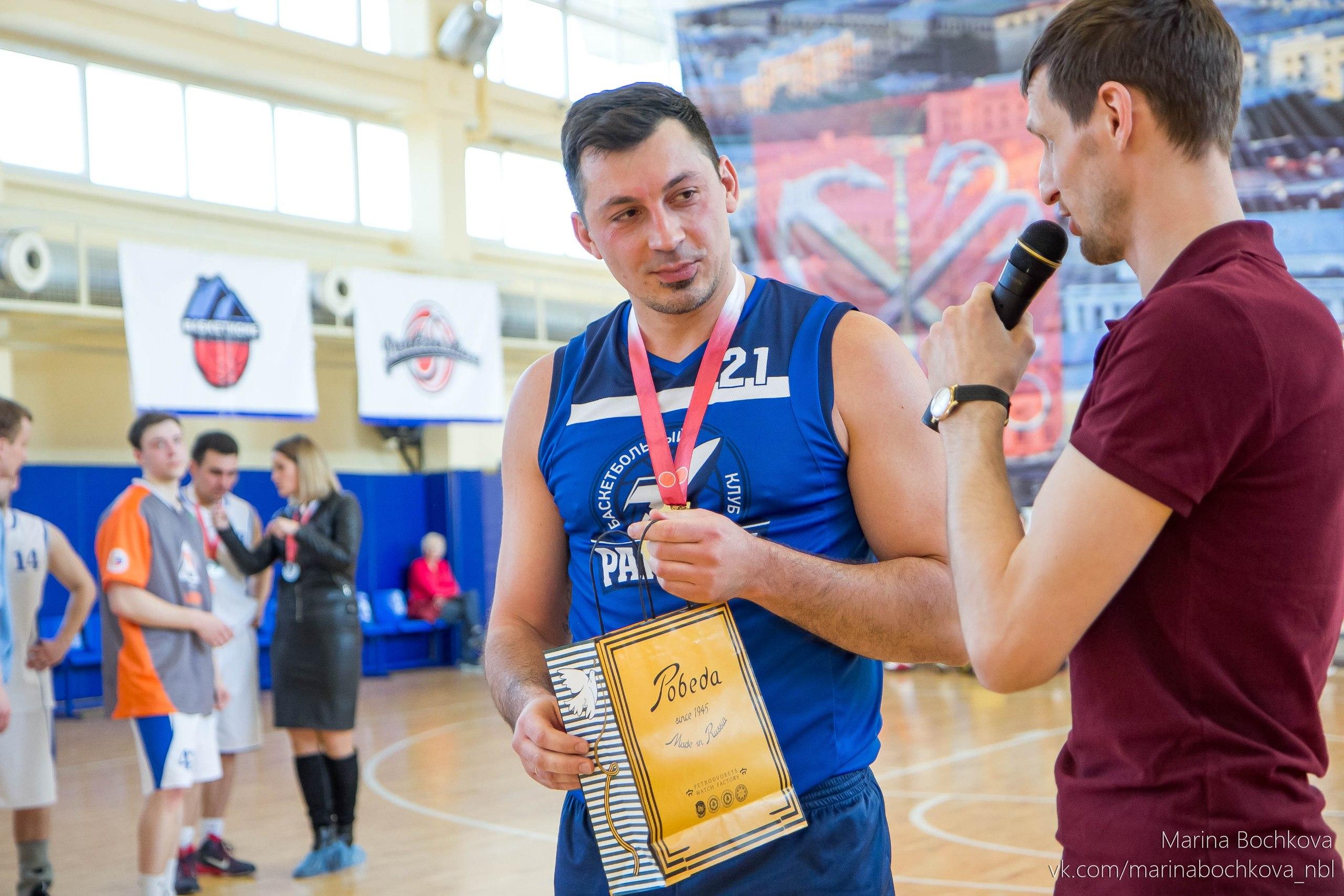 Валерий Арефьев – лучший игрок Третьего Дивизиона НБЛ сезона 2017-2018