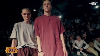 Irina . & Dam'en vs Ben Wichert & Miracle | 1/4 Hip Hop 2X2 WHAT THE FLOCK 6