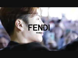 190116 Fendi Mens Fall/Winter 2019-20 Fashion Show: Backstage