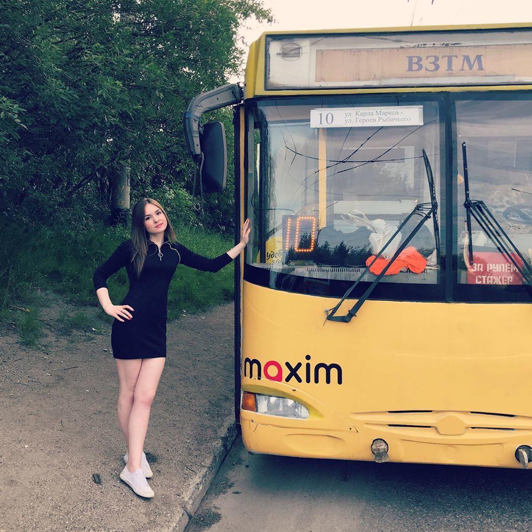 Водитель троллейбуса из Мурманска