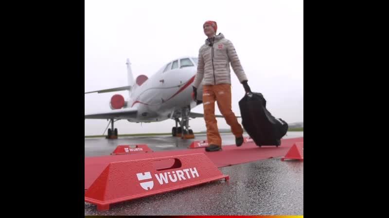 Бенедикт Долль обладатель Goldene Ski 2020 Золотая лыжа