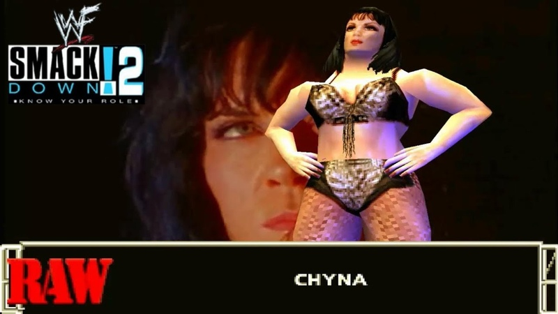 WWF Smackdown 2 Chyna Entrance PS1