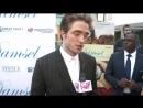[HD] - Lina Noory interviews Robert Pattinson at the Damsel LA Premiere