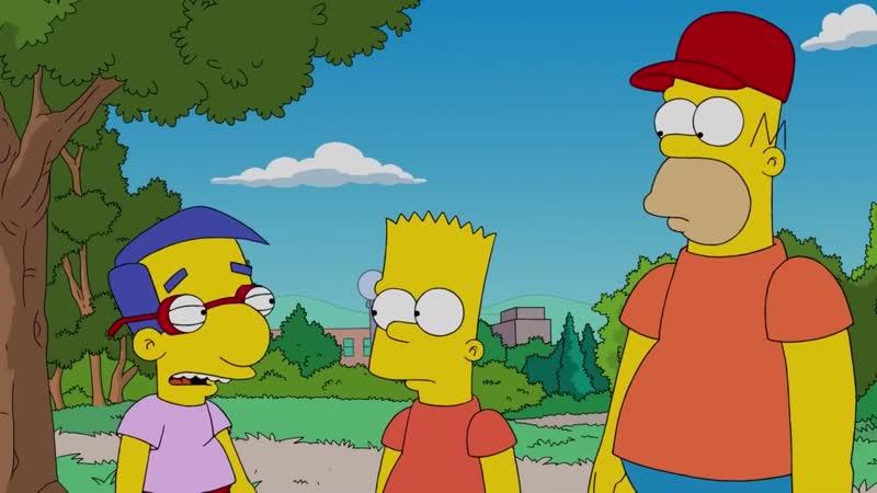 В сотне лучших друзей Симпсоны