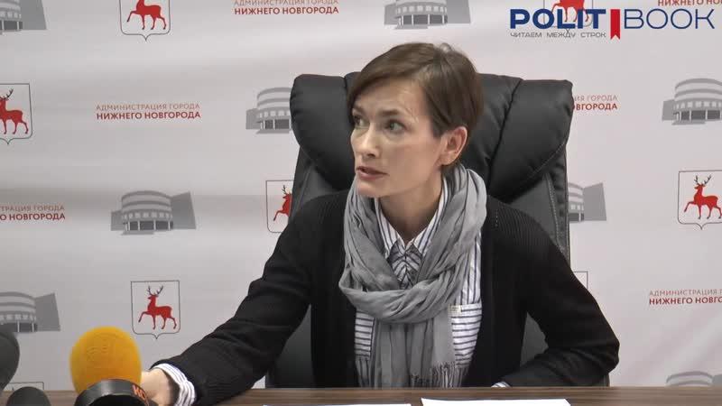 Зоя Рюрикова об основных задачах АНО Институт городской среды Нижнего Новгорода