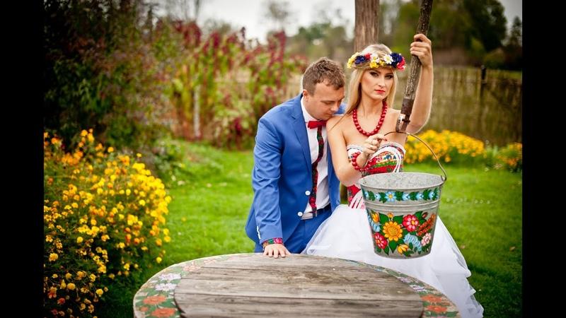 ORYGINALNY trailer ślubny wesela folkowego