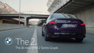 The all-new BMW 2 Series Coupé.