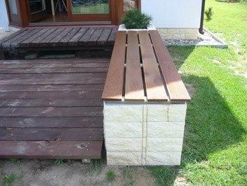 Садовая скамейка своими руками (источник: gofazenda)