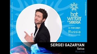 Сергей Газарян едет на Hot Winter in Siberia 2021! Сальса Бачата Кизомба Фестиваль