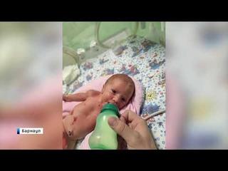 В Алтайском крае родители отказались от новорождённой девочки-«бабочки»