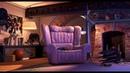 Майк и Салли успокаивают Бу ... отрывок из мультфильма (Корпорация Монстров/Monsters, Inc)2001